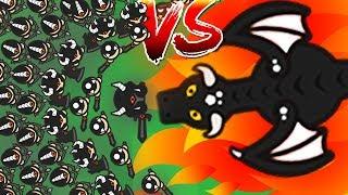 EXTREME DANGEROUS ARMY Vs all servers! (MOOMOO.IO BETTER VERSION?!) (Lordz.io Dragon New .io Game)