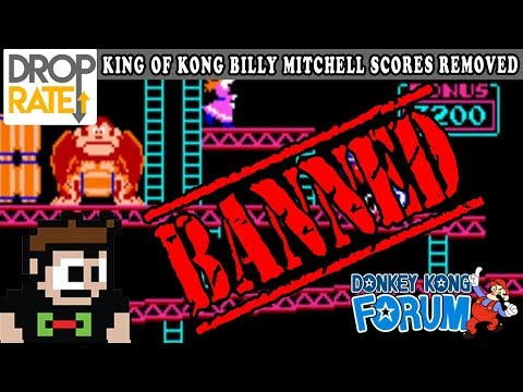 King of Kong Billy Mitchell Donkey Kong Scores REMOVED! Game Talk Radio EP 59