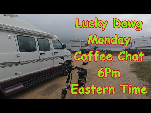 Spring Is Coming! Lucky Dawg Live Monday Coffee Chat