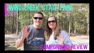 Wind Creek State Pąrk Campground Review || Full-Time RV Living