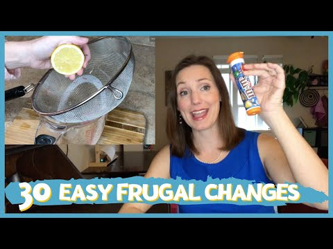 30 Things We Don't Buy to SAVE MONEY: Frugal Minimalist Family Journey: Frugal Living Habits