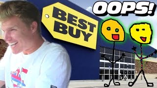Blown Eardrum BASS at BEST BUY!?!? Funny 1st Time Reactions to Loud Car Audio Subwoofer BASS Demos!