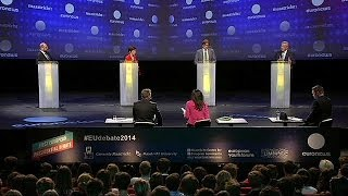 Rivals for Brussels top job mark out territory live on Euronews