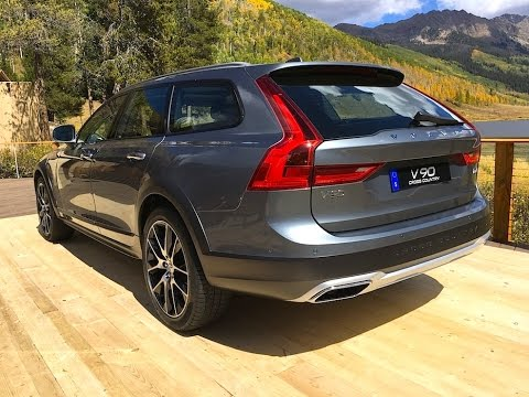 2017 Volvo V90 Cross Country WORLD PREMIERE FIRST TECH REVIEW