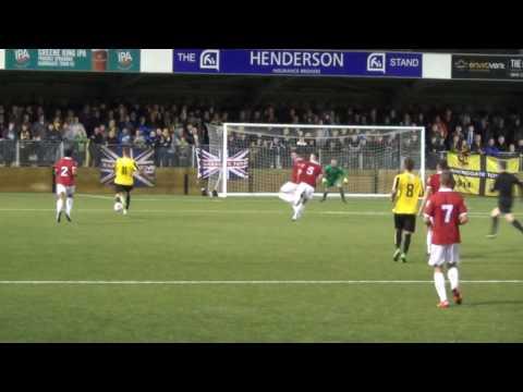 Harrogate Town 2-0 FC United. 4 10 16. FA Cup 3rdQ replay