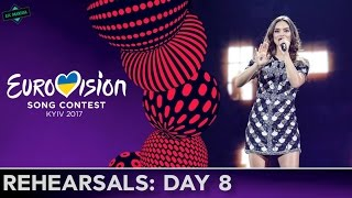 EUROVISION 2017 REHEARSALS: BIG 5 + HOST l MY TOP 6 (Day 8)