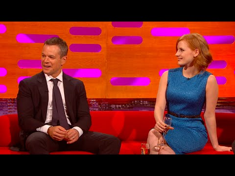 Jason Bourne fights with STATIONERY? - The Graham Norton Show