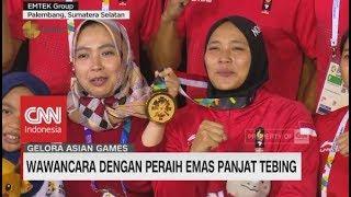 Spider Woman Indonesia Aries Susanti Puji Lestari Peraih Emas Panjat Tebing AsianGames2018