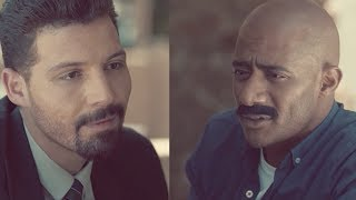 مواجهة زلزال وعبد الحليم في عزاء عم غبريال/ مسلسل زلزال - محمد رمضان