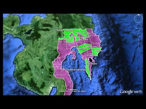 Kalahi-CIDSS NCDDP Coverage, Davao Region