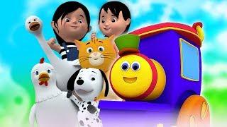 Download боб поезд   Rig A Jig Jig   песня для детей   рифмы на русском   детские стишки Bob The Train Russia Mp3 and Videos