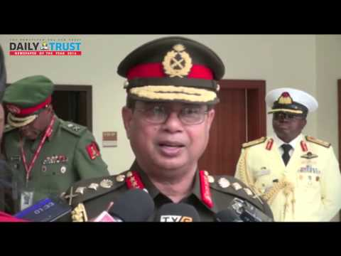 Bangladeshi Army boss speaks on why he came to Nigeria