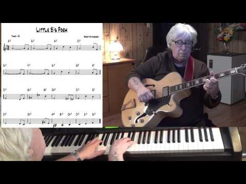 Little B's Poem - Jazz guitar & piano cover ( Bobby Hutcherson )