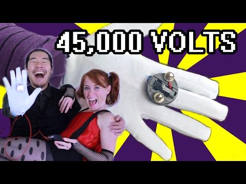 How Does Joker's Joy Buzzer KILL? 45,000 Volt Spanking ft. Tamara Robertson