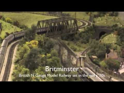 N Gauge - Britminster - British Outline Model Railway