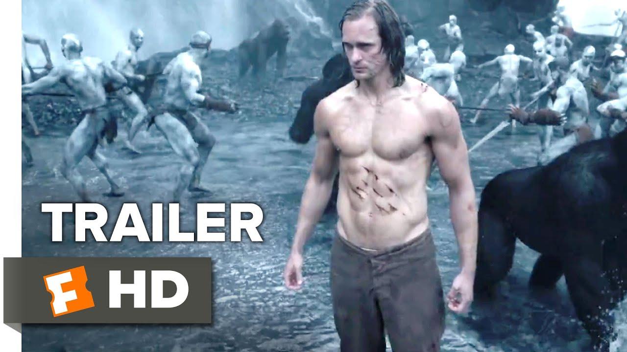 The Legend Of Tarzan Official Trailer 1 2016 Alexander Skarsgård Margot Robbie Movie Hd