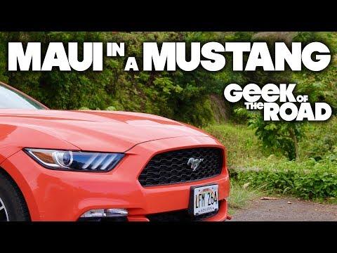 Maui Roadtrip... in a Mustang!