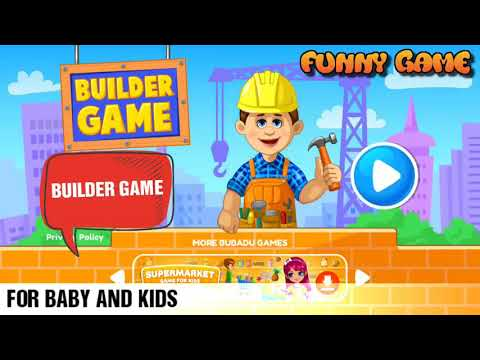 Builder game guide #1 - Funny game top - For baby and kids