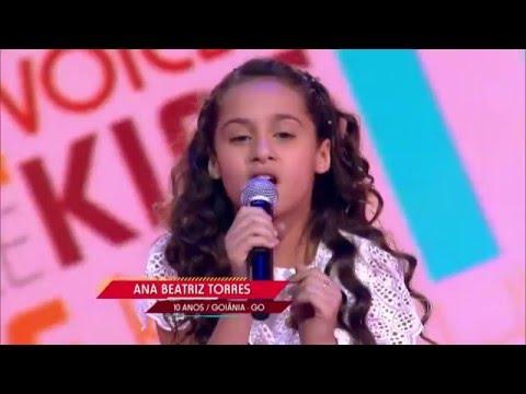 Ana Beatriz Torres canta 'A Vizinha do Lado' na Audição do The Voice Kids