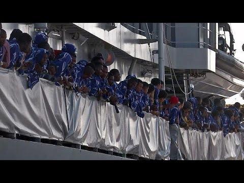 Migrant arrivals in Italy surge