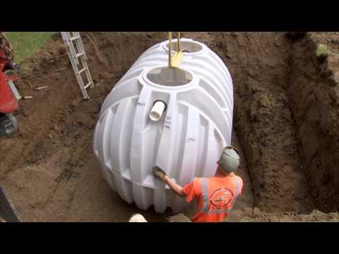 AK Industries - Septic Tank Installation Video