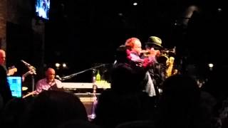 Tower of power 2 with Saiger's at Dakota Jazz Club! Awesome!