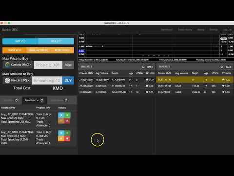 Litecoin Atomic Swap BarterDEX