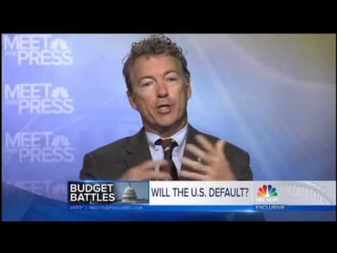 Rand Paul Compares Default Warnings to Closing WWII Memorial: 'This is a Game'