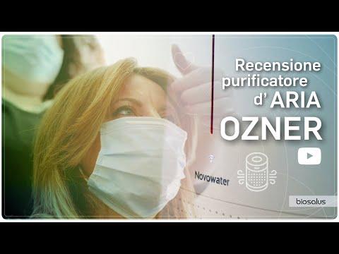 Recensione purificatore d'aria Ozner - Biosalus Italia