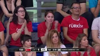 FIBA Kadınlar EuroBasket 2019 | Türkiye 54 - 57 İtalya
