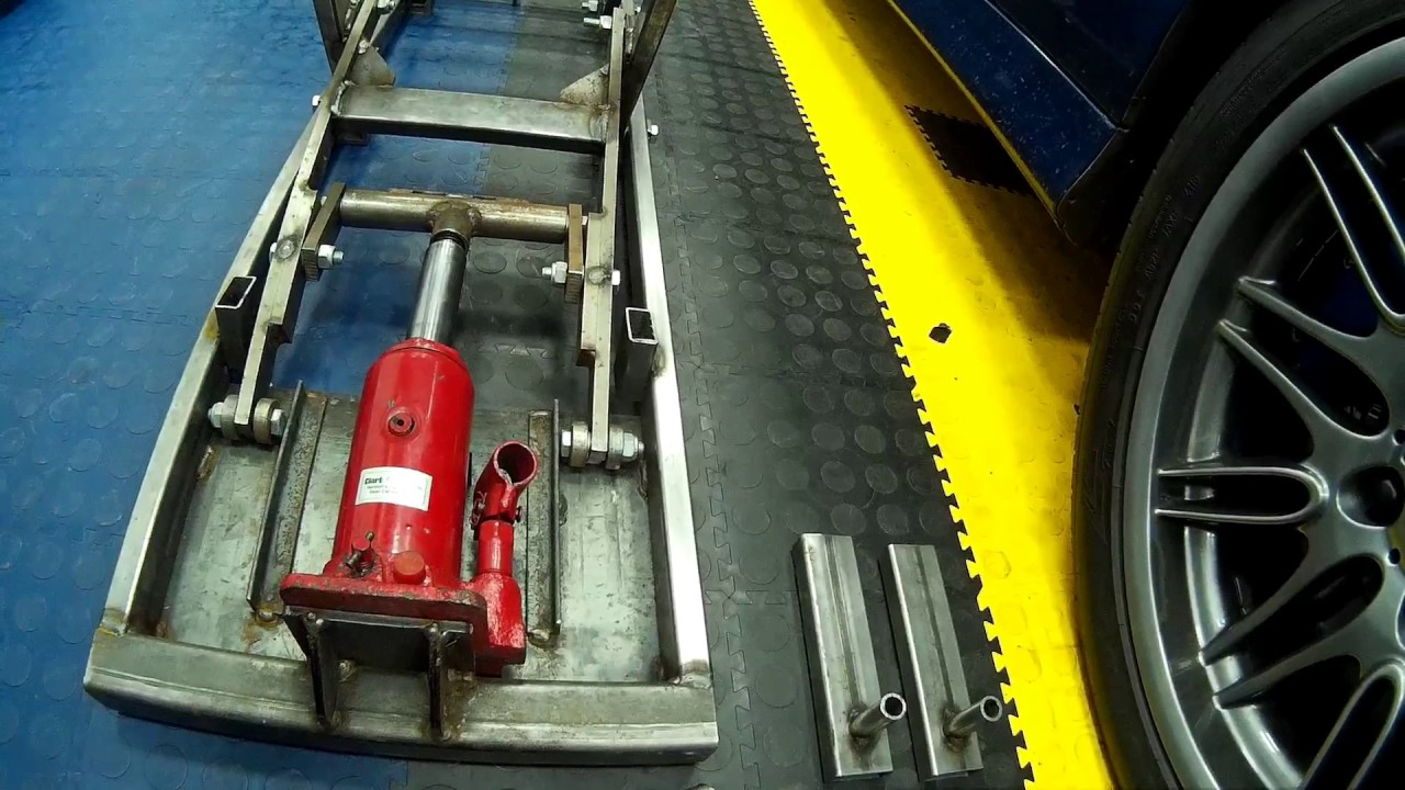 hydraulic lifting car vehcle jack ramp product review youtube