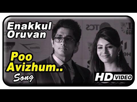 Enakkul Oruvan Movie Songs HD | Poo Avizhum song | Pradeep Kumar | Siddharth