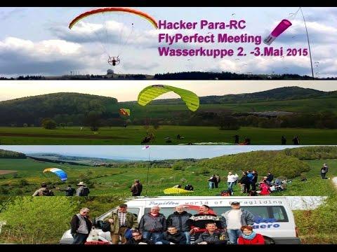 RC-Paragliding: Para-RC-Meeting Hacker FlyPerfect auf der Wasserkuppe / Hessischen Rhön 2.-3.Mai15
