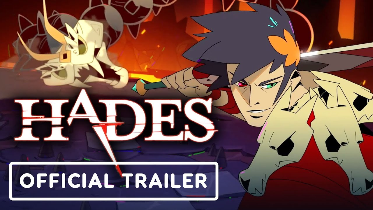 Hades - Official Animated Trailer - YouTube