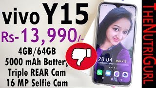 Vivo Y15 - Unboxing amp Overview In HINDI Indian Retail Unit