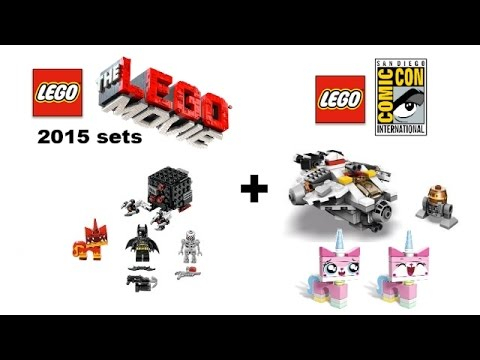 The LEGO Movie 2015 set revealed! + More exclusives!