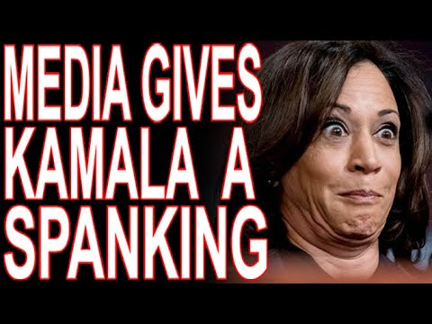 """Media Reports """"Infighting"""" and """"Dysfunction"""" In Kamala's Office. Is This Th"""