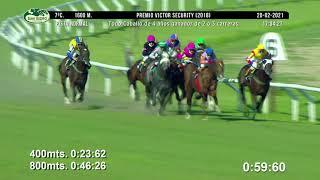 Vidéo de la course PMU PREMIO VICTOR SECURITY 2018