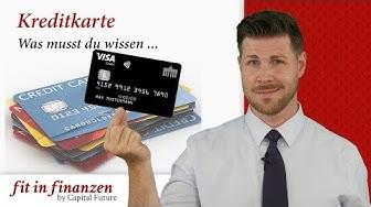 Kreditkarte - was musst du wissen