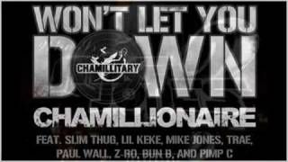 Wont Let You Down Remix Chamillionaire Ft Slim Thug Lil KeKe Mike Jones Trae Paul Wall Z Ro Bun B Pimp C