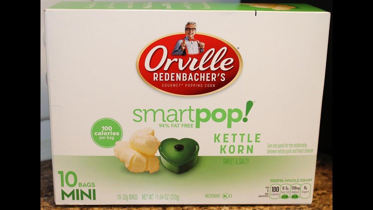 Orville Redenbacher's Smart Pop Review