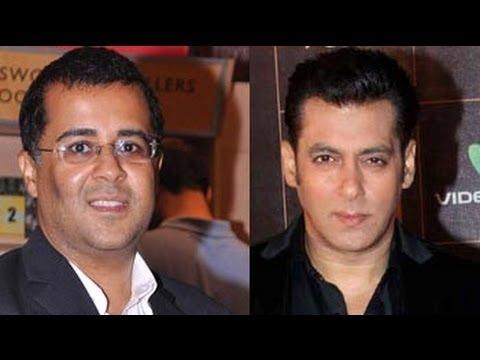 Chetan Bhagat's face-off with Salman Khan