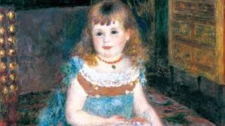 ピエール=オーギュスト・ルノワール《すわるジョルジェット・シャルパンティエ嬢》1876年