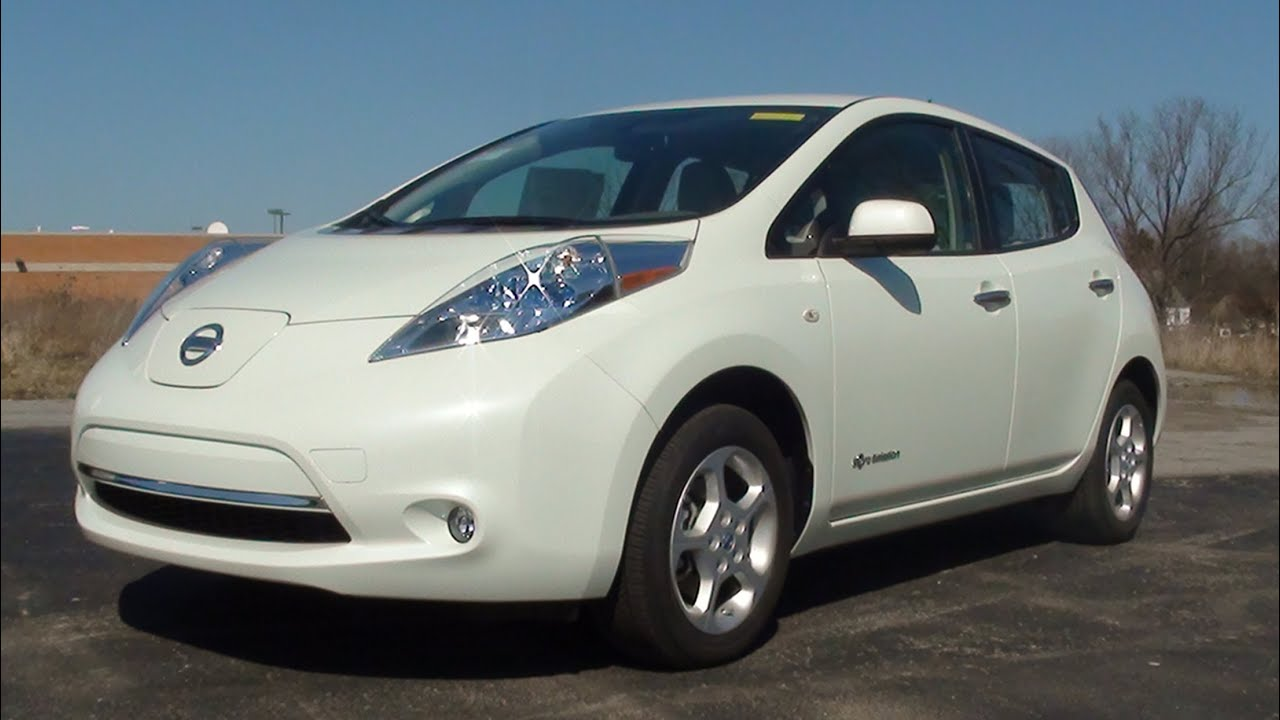 mvs 2012 nissan leaf sl exclusive w full test drive youtube. Black Bedroom Furniture Sets. Home Design Ideas