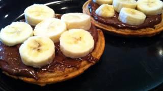 High-protein Chocolate Banana Waffles - Lean Body Lifestyle