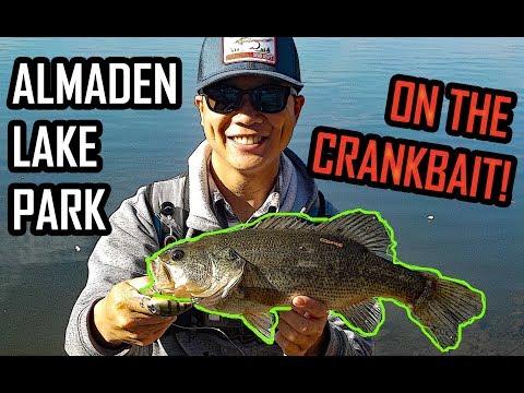 Bass Fishing At Almaden Lake Park | San Jose, CA | 1/13/18 | FishingWithKen