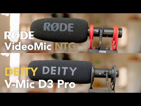 Røde VideoMic NTG Vs Deity V-Mic D3 Pro SOUND TEST Head-to-head!