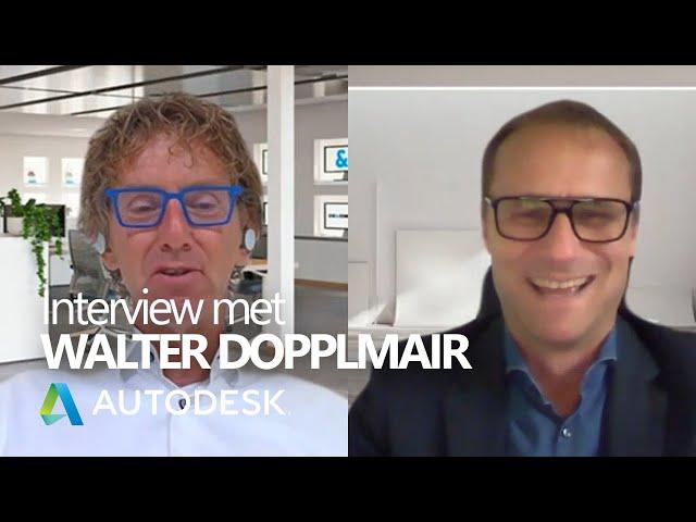 Nieuwe ontwikkelingen bij #Autodesk   Interview met Walter Dopplmair