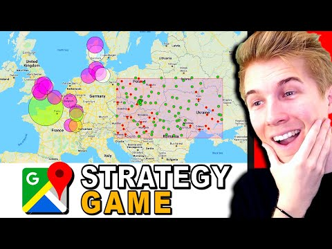 This Multiplayer Strategy Game Takes Place In GOOGLE MAPS?! (Battle For Real Life Cities)
