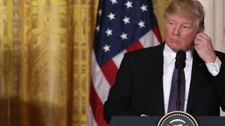 Trump counters Russia connection reports